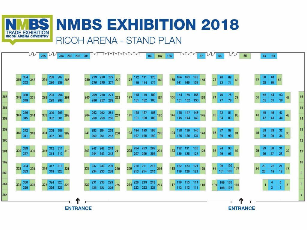 NMBS Stand Plan 2018
